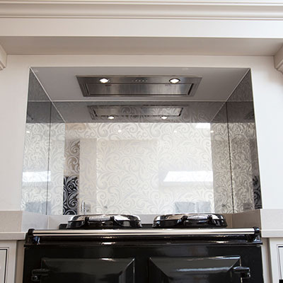 Patterned Mirror Splashbacks